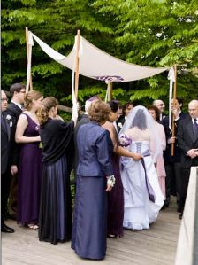 different chuppah